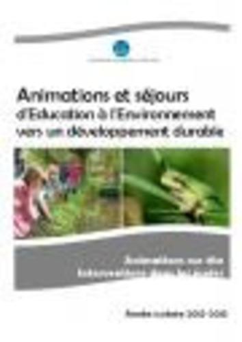 """Afficher """"Livret pédagogique du CPIE Vallées de la Sarthe et du Loir 2012 - 2013"""""""